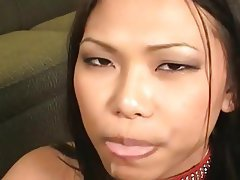 Asian, Blowjob, Cumshot
