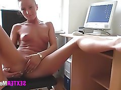 Amateur, Casting, German, Masturbation, Close Up