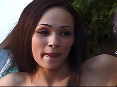 Cunnilingus, MILF, Old and Young, Outdoor
