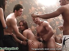 Babe, Group Sex, Teen