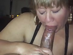 Blowjob, Cumshot, Interracial, Boyfriend