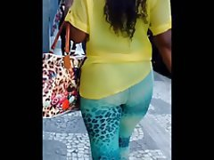 Brazil, Big Butts, Spandex, Black