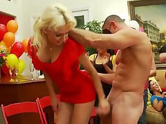 Amateur, Blonde, CFNM, Club