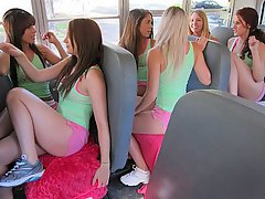 Amature cheerleader upskirt video