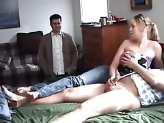 Cuck watch his girlfriend fucked by a bbc