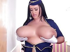 BBW, Big Boobs, British, Lingerie