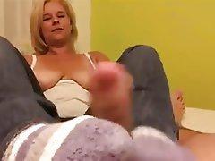 Amateur, Foot Fetish, German