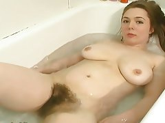 Big Boobs, Hairy, Redhead, Shower