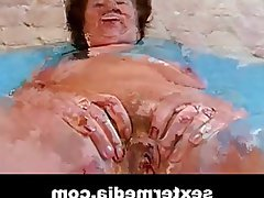 Amateur, Casting, German, Masturbation, Granny