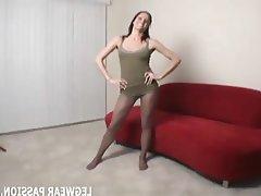 Amateur, Babe, Lingerie, Masturbation, Stockings