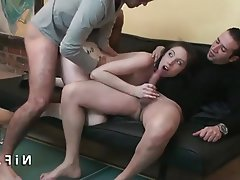 Huge ass anal interracial
